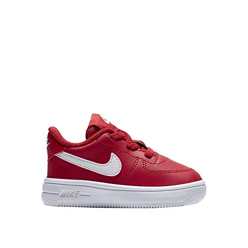 on sale aa84c fa0f4 Nike Unisex Baby Force 1  18 (Td) Hausschuhe, Rot (University Red