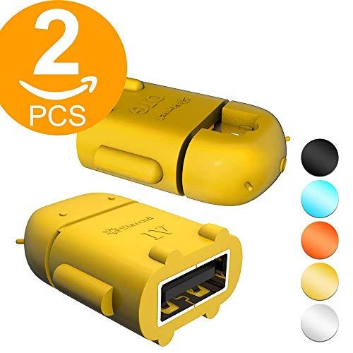 Act.2 Pack Micro USB OTG USB Adaptador Micro USB Macho