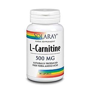 41oy%2BU4%2B AL. SS300  - Solaray L-Carnitine 500 mg | 30 VegCaps