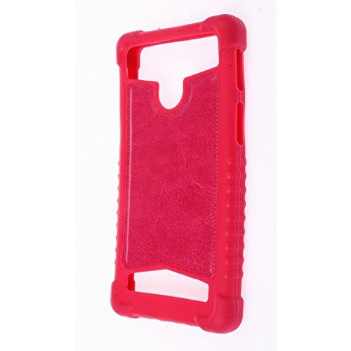 "MISEMIYA - Funda Universal para Smartphone - 5# 5.2""-5.5""(8 * 15cm), Fucsia"