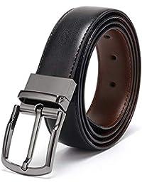 CLUB SPUNKY Reversible PU-Leather Formal Black/Brown Belt For Men (Color-Black/Brown) belt for men, formal belt, gift for gents, Gents belt, mens belt
