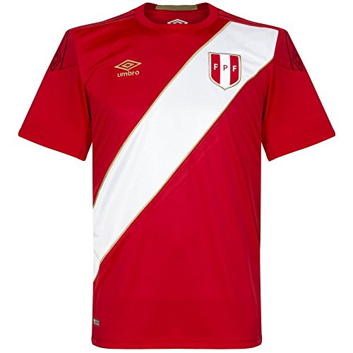 Umbro 2018-2019 Peru Away Football Shirt