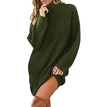 a8efc0db2c Amazon.it: maxi maglia donna invernali - Verde