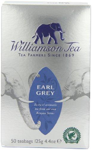 Williamson Tea Earl Grey (Pack of 4, Total 200 Teabags)