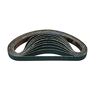 Connect 32259 Abracs File Belts 10mm x 330mm 40g Zirconium Pk 10