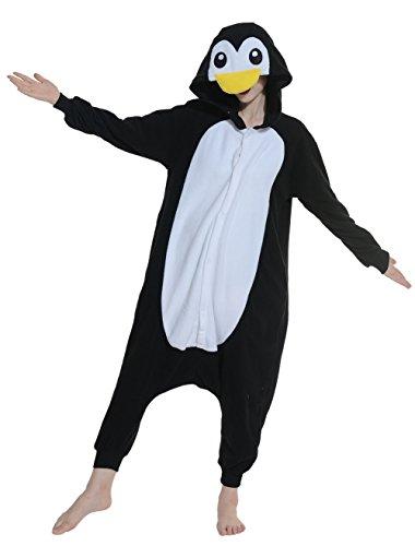 Imagen de wamvp adulto animal pyjamas kigurumi unisexo traje disfraz onesie halloween negro s