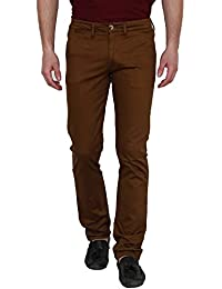 Yuvi Brown Cotton Trouser