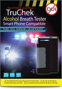 truchek alcootest (Fuel Cell Capteur + Bluetooth) Noir