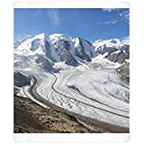 Photo Mug of Overview of the Diavolezza and Pers glaciers, St. Moritz, canton of Graubunden