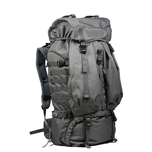Camping Wandern Outdoor Rucksack/80LWasserdichte Tasche-grau 80L grau