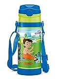 Milton Campy 650 Chota Bheem Stainless Steel Insulated Water Bottle, 410 ml, Dark