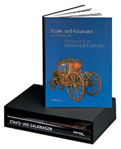 Staats- und Galawagen der Wittelsbacher. Kutschen, Schlitten und Sänften aus dem Marstallmuseum Schloss Nymphenburg. 2 Bde: Bildband und Textband (2000-09-05)