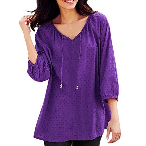 Ronamick Camisetas Basicas Mujer Comfort Blusa Transparente