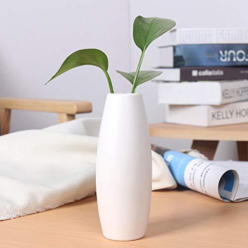 Handgemachte Keramik Vase Wohnzimmer Tisch Couchtisch Dekoration Keramik Dekoration Handwerk,White ()
