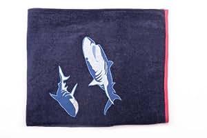 Honolulu Shark Beach Towel by HarryB