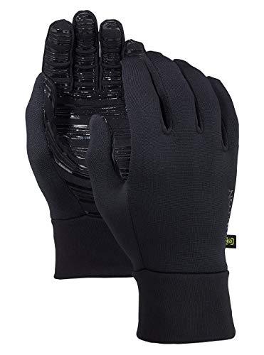 Burton Herren Snowboardhandschuhe POWERSTRETCH LINER True Black, S/M - Winter Handschuhe Burton Herren