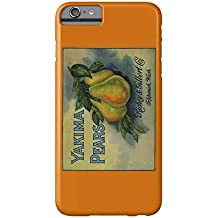 Yakima Pears Crate Label (iPhone 6 Plus Cell Phone Case, Slim Barely There)