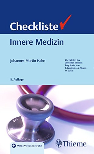 Checkliste Innere Medizin (Checklisten Medizin)
