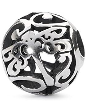 Trollbeads Damen-Bead Libellen Ornament 925 Silber - TAGBE-20116