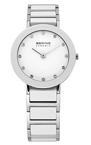 BERING Time Damen-Armbanduhr Slim Ceramic 11429-754