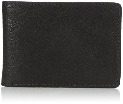 Dopp Alpha RFID Herren Geldbörse mit Fronttasche Slim fold Slim Wallet - Schwarz - Einheitsgröße -