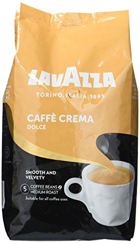 Lavazza Caffè Crema Dolce Kaffeebohnen, 1 kg Packung