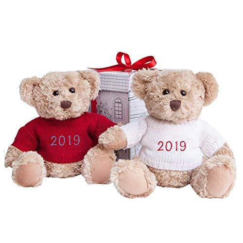 Babyblooms Bertie Bear de Nouvel An, Rouge