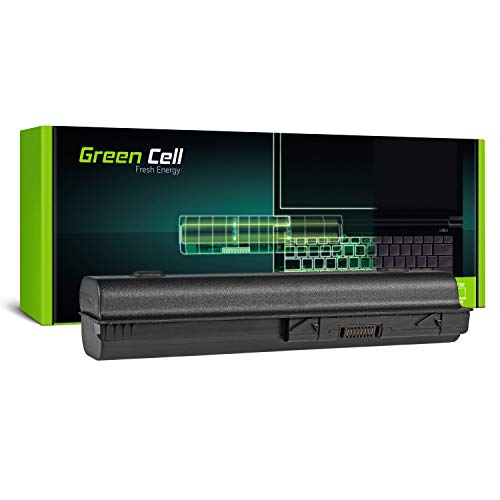 1044nr Akku (GC® Extended Serie Laptop Akku für HP HDX X16-1040ER X16-1040US X16-1044NR X16-1050EE X16-1050EF (6600mAh 10.8V Schwarz))