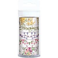 URSUS 58860001Masking Tape, Flora, Set da pezzi