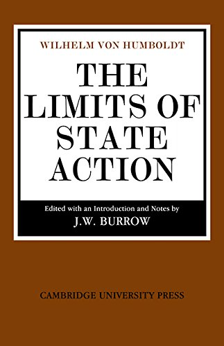 The Limits of State Action (Cambridge Studies in the History and Theory of Politics) (English Edition)