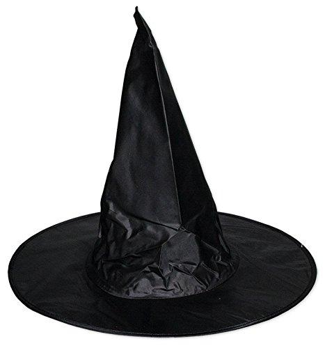 Preisvergleich Produktbild 3 x Hexenhut für Kinder Hexe Halloween Karneval Party Hut Fasching Zauberer