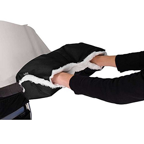 IntiPal Baby Pushchair/Pram/Stroller Fleece Hand Muff/Hand Gloves/Hand Warmer Anti-freezing Baby Stroller Accessories