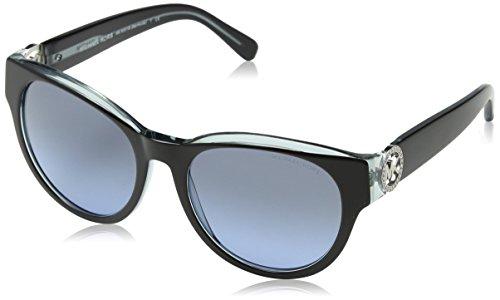 Michael Kors Damen MK6001B Bermuda Sonnenbrille, Schwarz (Black 300117), One Size (Herstellergröße: 54)