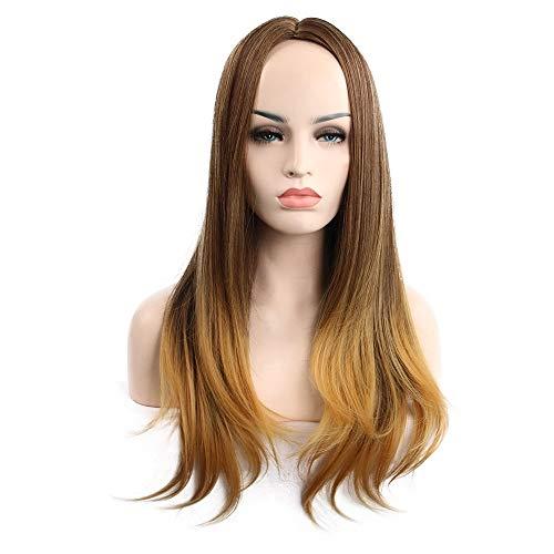 Fleurapance - Peluca de pelo largo rizado