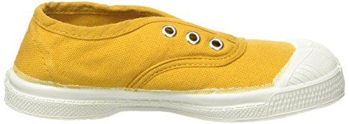 Bensimon Tennis Elly Enfant, Unisex-Kinder Hohe Sneakers Gelb (Jaune)