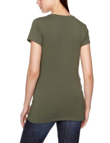 G-STAR RAW Damen T-Shirt Base V T Wmn Cap Sl-9752.331 Vert-TR-A12-1-2