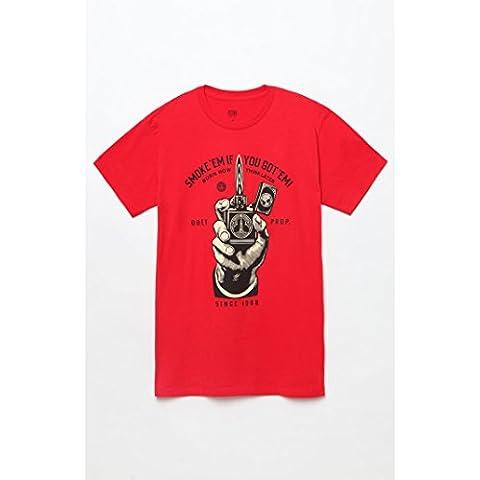 Obey Camisetas deportivas Smoke'Em Red M
