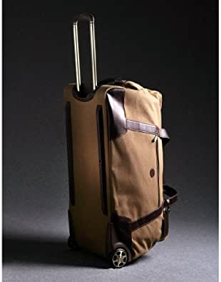 Baron - Duffel Bag on Wheels - Olive/Brown 4040