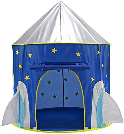ccd4de96fde63 ZNHL Bambini Tenda Giocattolo, Toddler Play House Castello Castello  Castello Blu per Ragazzi Ragazze per Indoor e Outdoor Giocattoli Pieghevoli  Playhouses ...