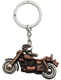 Classic Bullet Bike Cooper Metal Keychain