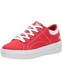 es Rojo Zapatos Skechers Complementos Y Amazon xUqFCAwvn