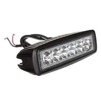 AUDEW 18W 6 LED 1620lm Feu Lampe Travail Eclairage Chantier Projecteur Spot Camion Remorque Off Road ATV