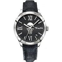 Thomas Sabo Hombre Reloj de pulsera Rebel at Heart–Icon Skull analógico de cuarzo piel wa0210–218–203–43mm de Thomas Sabo