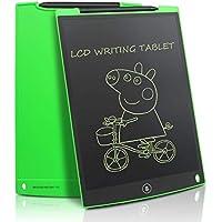 NEWYES LCD Schreibtafel Grafiktabletts 12 Zoll mit 2 Magenete 1Stift Papierlos Wiederverwendbar Schreiben Malen Notizen zu Hause Büro Supermarkt usw (Grün)