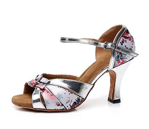 Minitoo , Danse de Salon femme Light Pink-7.5cm Heel