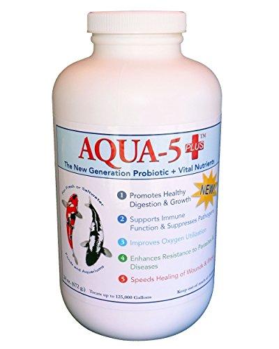 AQUA-5 PLUS++ die ganz Neue Generation der Milchsäurebakterien + Probiotika + Vitamine 336 g bis 672 g (672 g (24 oz.) Jumbo)