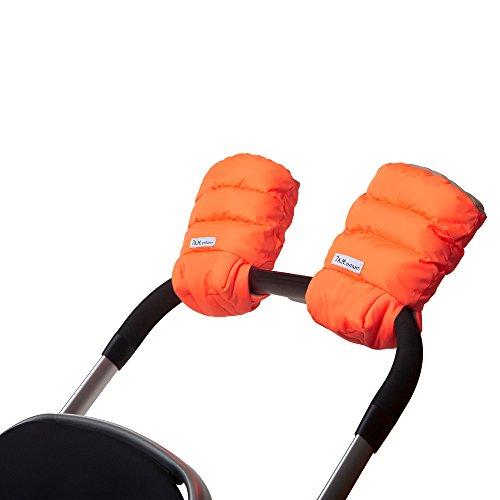 7AM Enfant Stroller WarMMuffs for Parents and Caregivers, Neon Orange