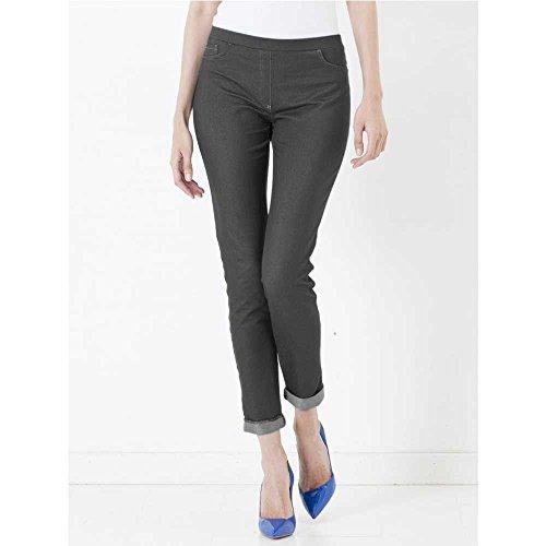 Ragno Pantalone capri in denim elasticizzato Art.70462R Nero