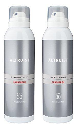 ALTRUIST Dermatologist Invisible Sunspray with SPF30, 200ml (2 x 200ml)