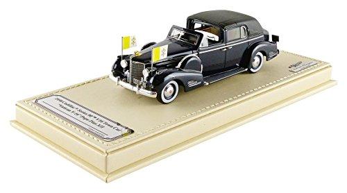 True Scale Miniaturen-tsmce154304-Cadillac Serien 90V16Town denn Vatikan-1938-Maßstab 1/43-Schwarz - Vatikan-modell